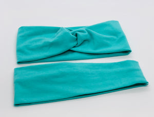 Mint Headband-Turban Twist and Yoga Styles | Sweet Stitch Novelties - Sweet Stitch Novelties