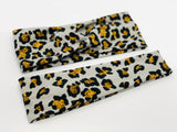 Leopard and Faux Glitter Headband-Turban Twist and Yoga Styles | Sweet Stitch Novelties - Sweet Stitch Novelties