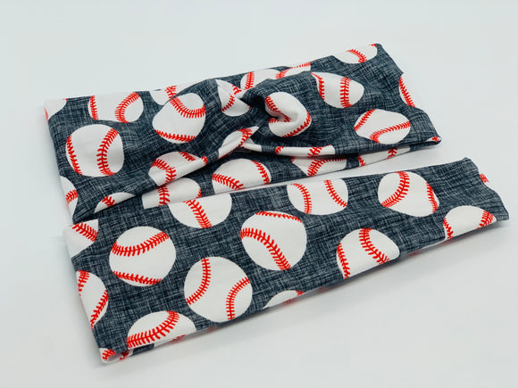 Baseball Headband-Turban Twist and Yoga Styles | Sweet Stitch Novelties