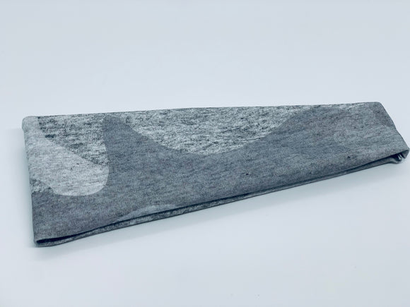 Peppered Moss Camouflage Yoga Headband