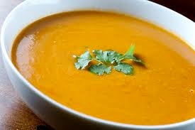 Creamy Pumpkin-Ginger Soup- Frozen