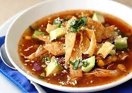 Chicken Tortilla Soup- Frozen Quarts