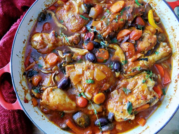 Chicken Cacciatore (Hunter's Chicken)
