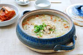 Chicken & Kimchi Congee  (Soup)- Frozen