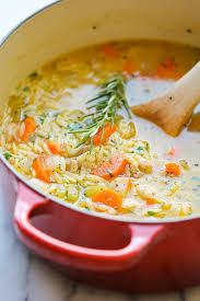 Roasted Chicken Orzo Soup- Frozen Quarts