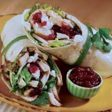 Turkey and Cranberry Wrap