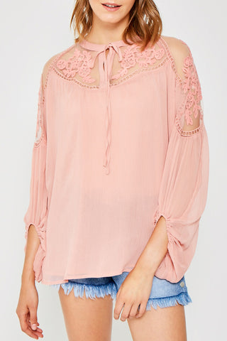 The Adren Top - Blush