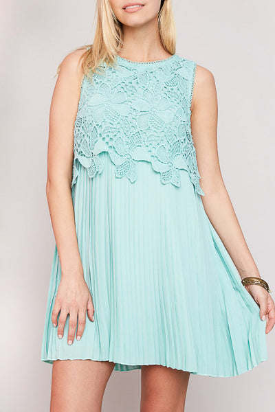 The Ivy Dress - Cyan