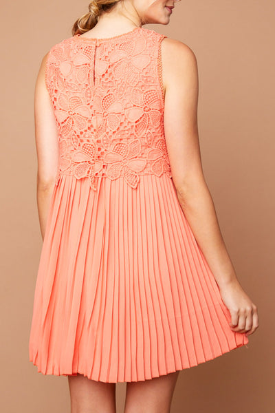 The Ivy Dress - Coral