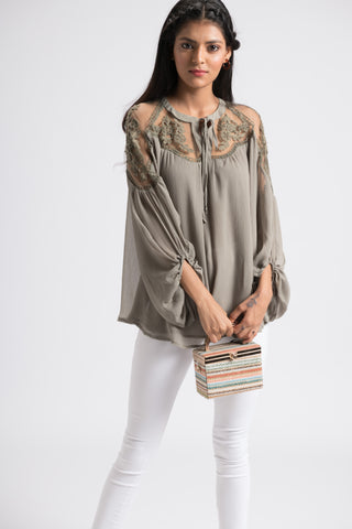 The Adren Top - Olive