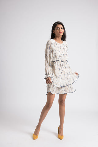 The Evelyn Dress - Ivory
