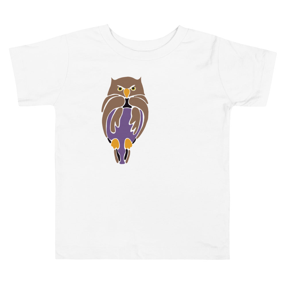 Owl Short Sleeve Tee - Toddler