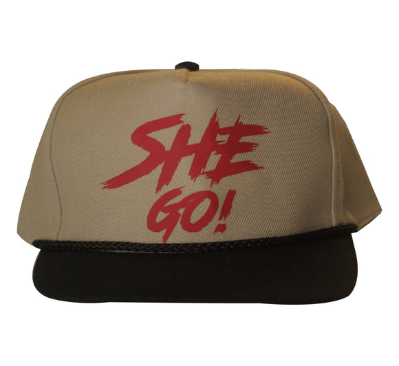 SheGo - Wool Blend Twill Low Crown Hat