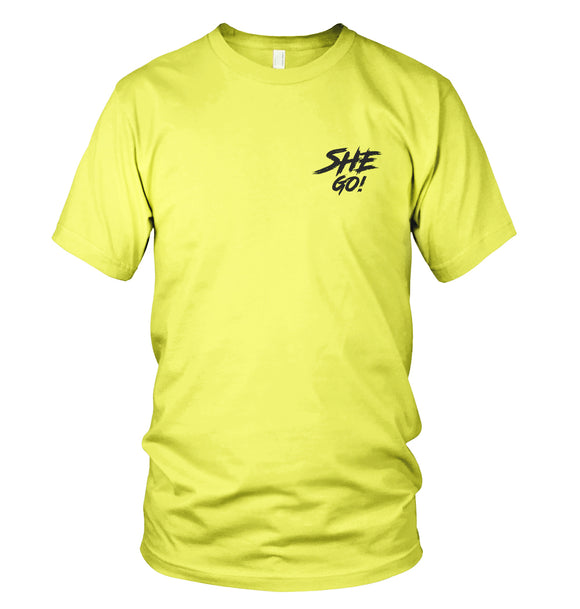 SheGo Safety Green T-Shirt