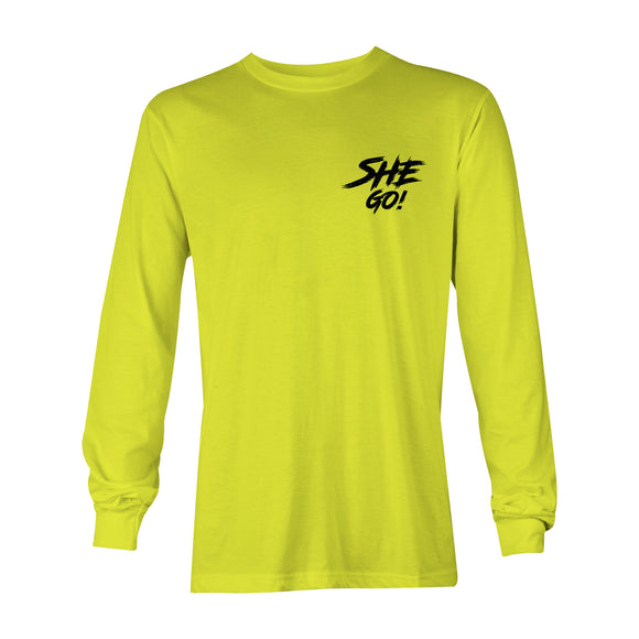 SheGo - Safety Green Long Sleeve