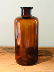 Vintage Apothecary Bottle - Large