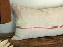 SOLD European Grain Sack Body Pillow 20x37