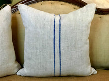 SOLD European Grain Sack Pillow 24x24