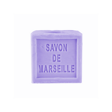 Load image into Gallery viewer, Savon de Marseille Cube Soap - 300g Cube Lavender