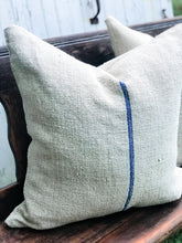 European Grain Sack Pillows 24""