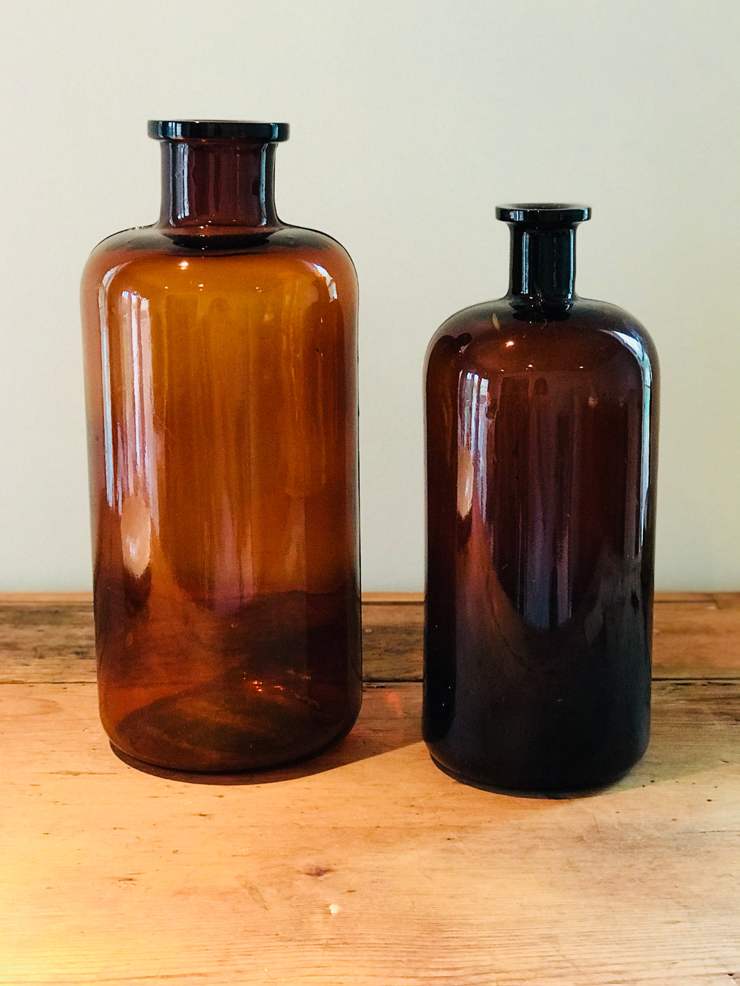Vintage Apothecary Bottle - Small
