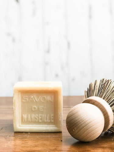 Savon de Marseille Cube Soap - 300g Cube Natural