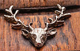 Pewter Stag Design
