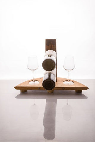 BRAERIACH Whisky Barrel Bottle Holder Gift