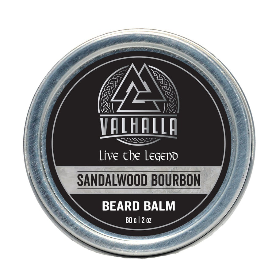 Valhalla SILVER LABEL Sandalwood Bourbon Beard Balm