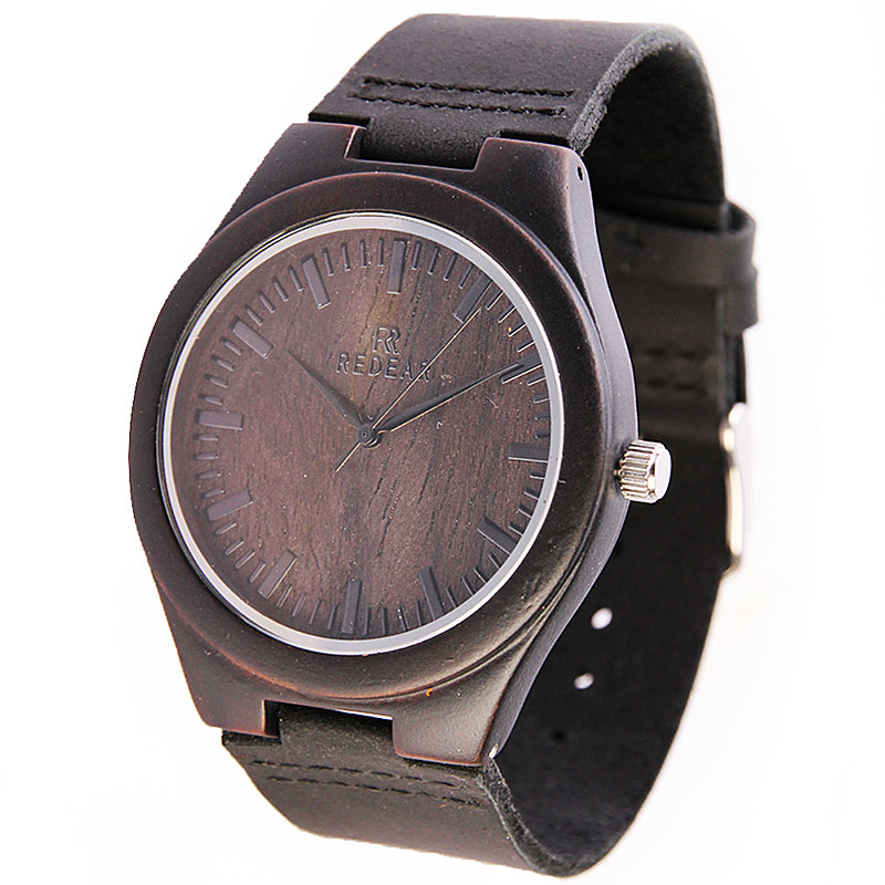 REDEAR Men's Wood Watch