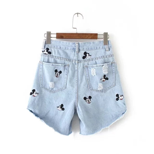 Women's Micky Mouse Shorts