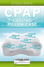 Pillow Case for Use with Endurimed CPAP Comfort Pillow - Cooling Fabric