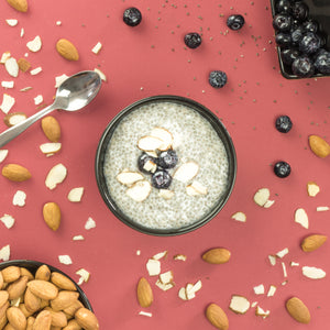 Vanilla Blueberry Chia Pudding