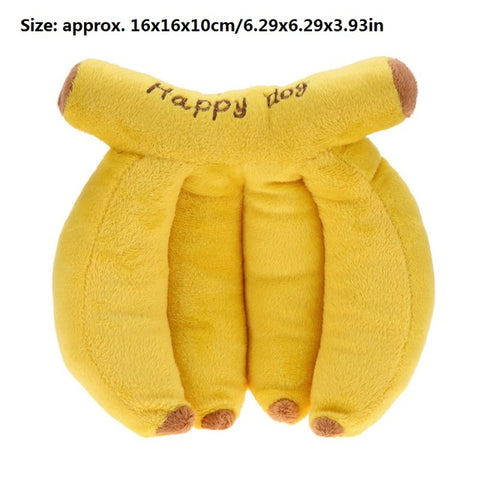 Banana Squeaker Sound Toy