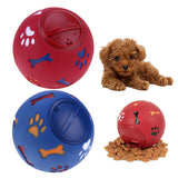 7.5/11 cm Dog Pet Toys Leakage Food Ball Pure Natural