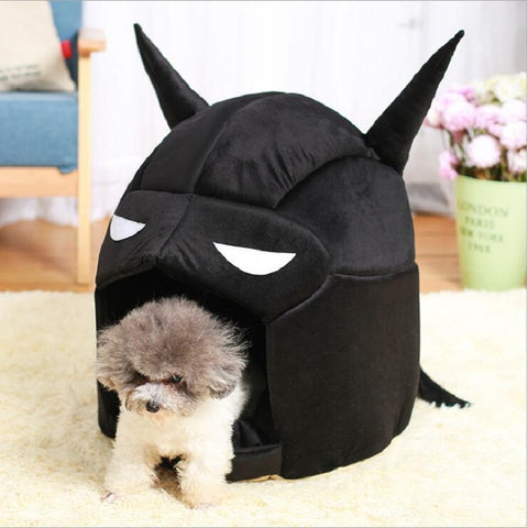 Cool Batman Warm Cats And Dogs Kennel House 2 Colors For Small Dogs