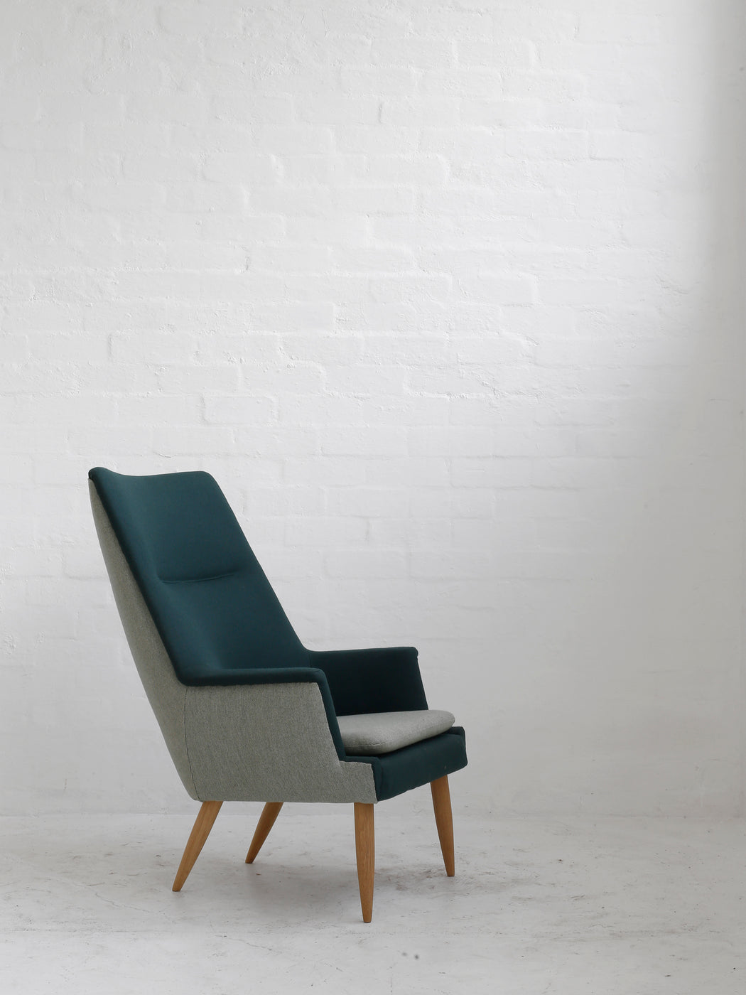 Danish High-Back Chair