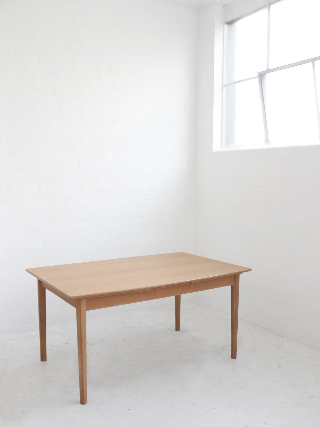 Danish Oak Extension Dining Table