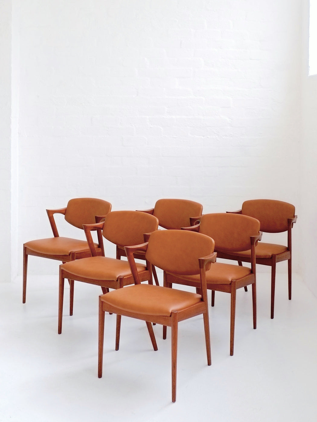 Kai Kristiansen 'Model #42' Chairs