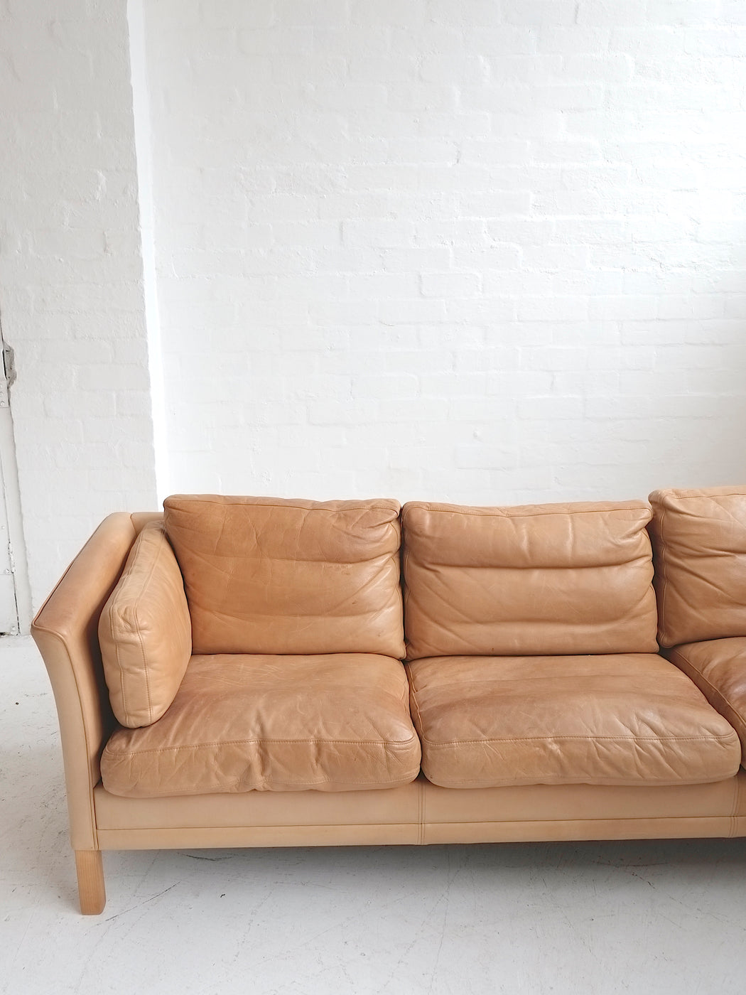Mogens Hansen Leather Sofa
