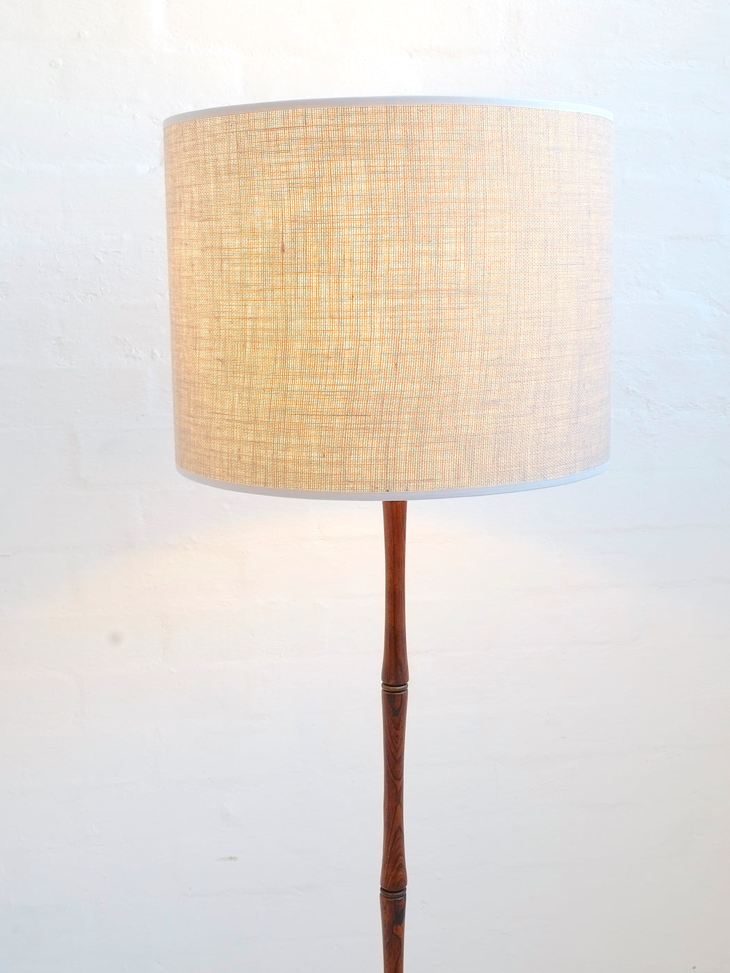 Danish Rosewood Lamp