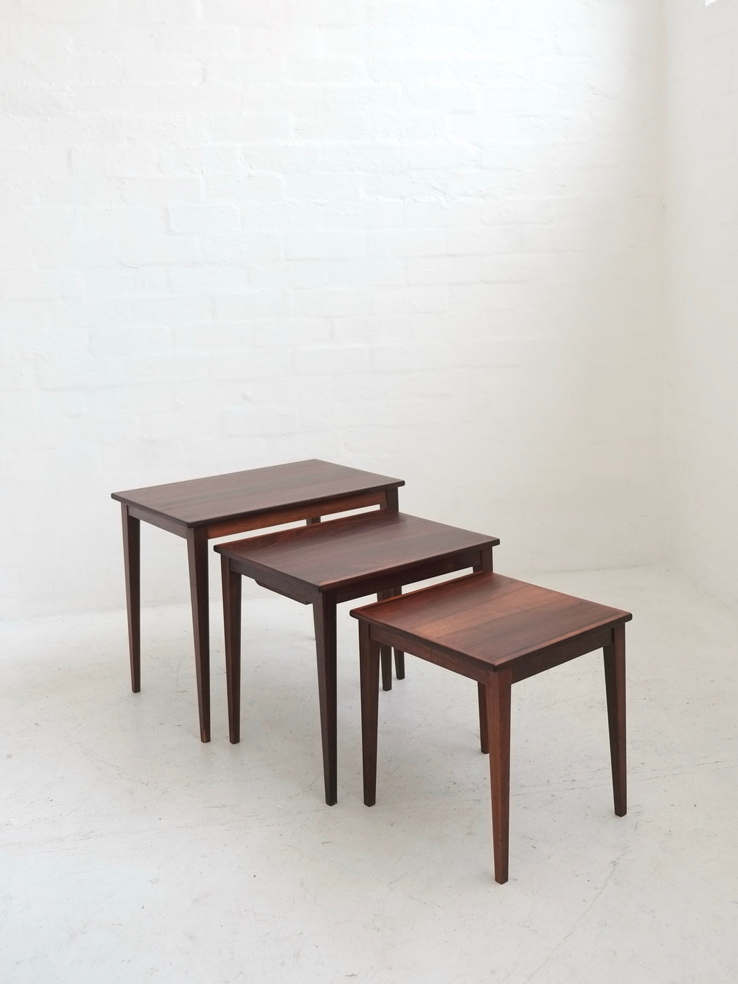 Danish Nest of Rosewood Tables
