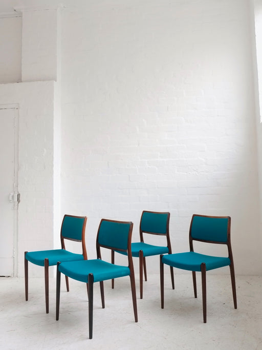 Niels Møller 'Model 80' Chairs