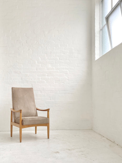 Fritz Hansen Oak Lounge Chair