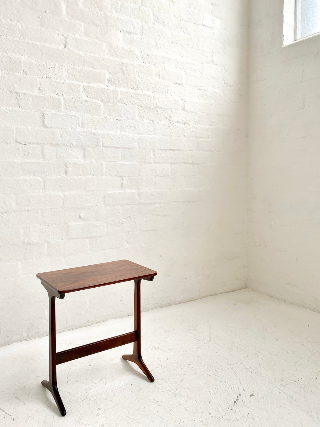 Small Danish Rosewood Side Table