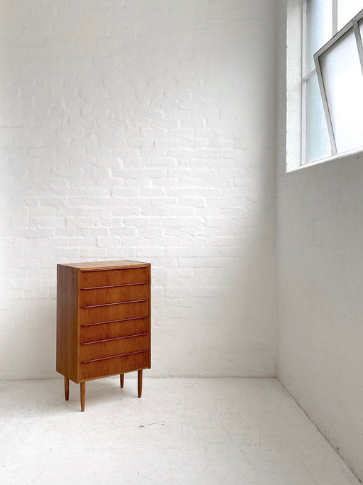 Small Danish Teak Chest of Drawers