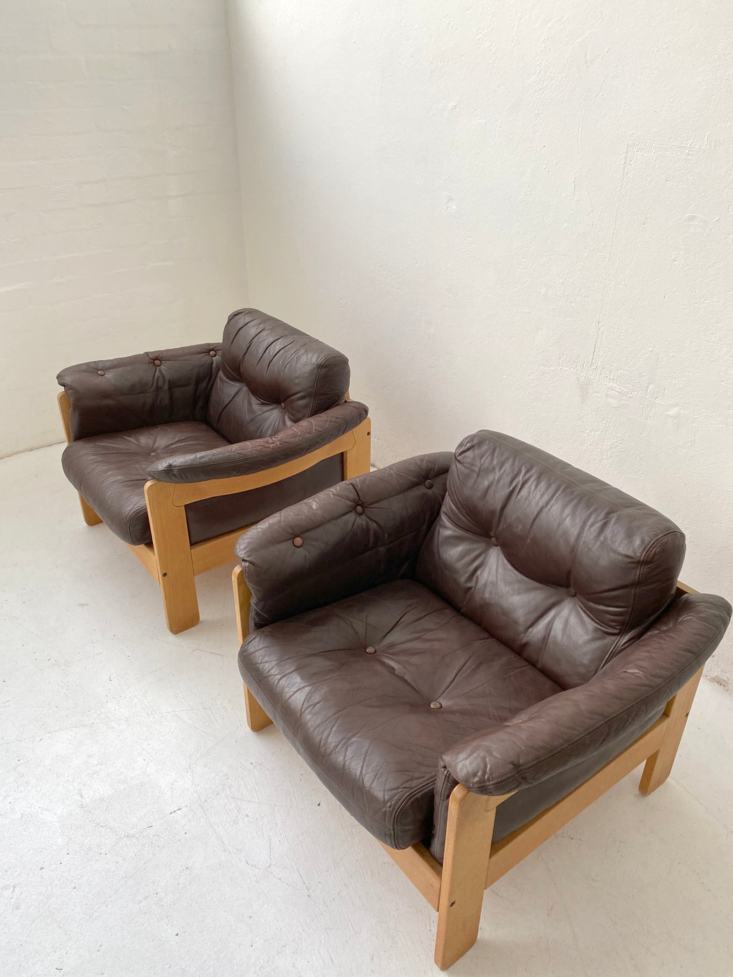 Niels Eilersen Leather Chair