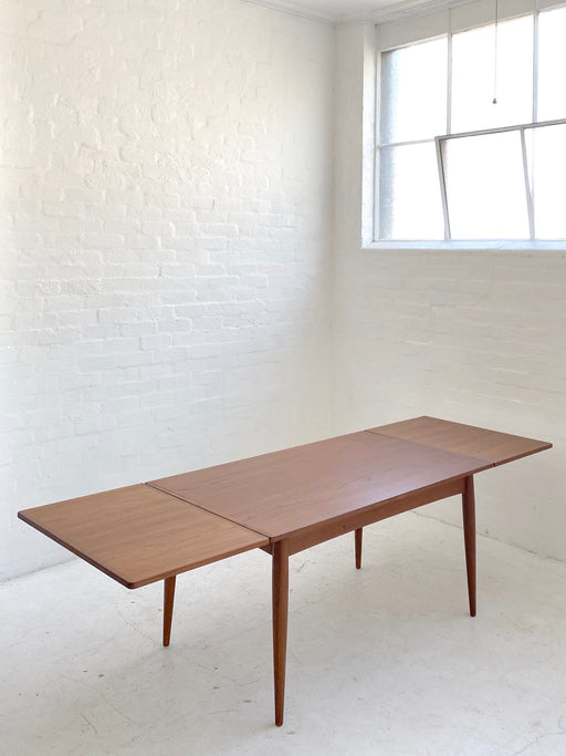 Danish Teak Extension Dining Table