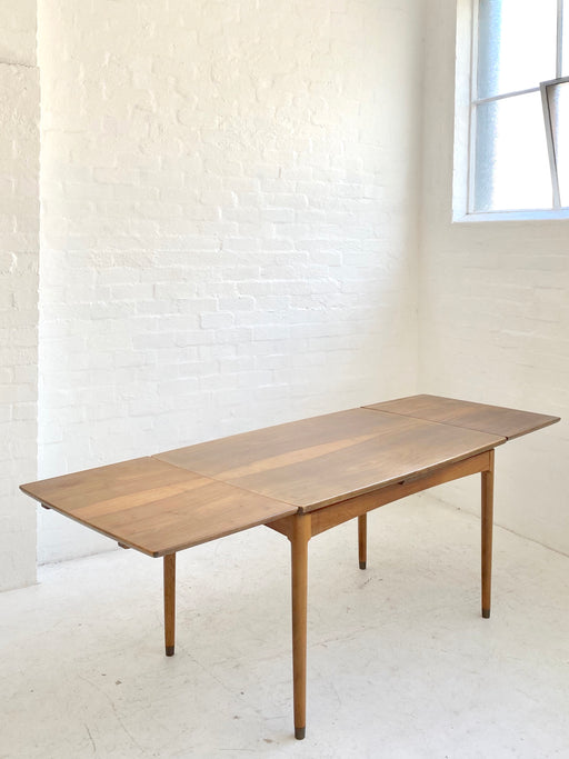 Danish Walnut Extension Dining Table