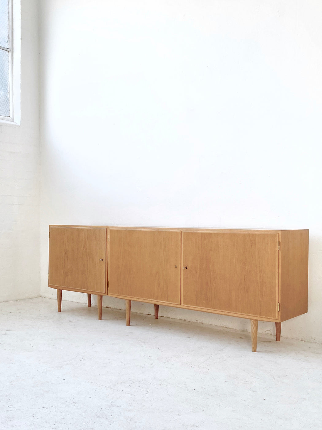 Carlo Jensen Oak Sideboards